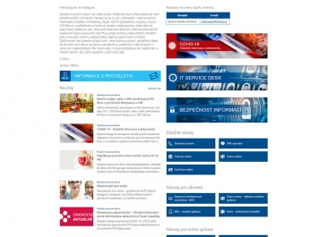 SharePoint - FN Brno - Intranet