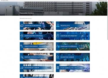 SharePoint - FN Brno - Intranet - pracoviště