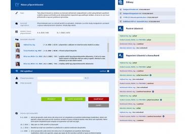 SharePoint - VFN v Praze - aplikace Připomínkování