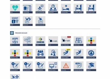 SharePoint - VFN v Praze - Intranet - aplikace