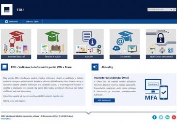 SharePoint - VFN v Praze - Intranet - EDU
