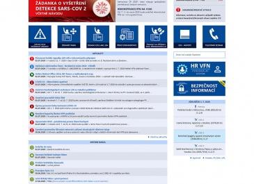 SharePoint - VFN v Praze - Intranet